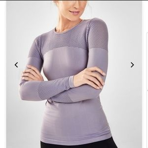 Fabletics Musetta Seamless Top, Size L. NWOT